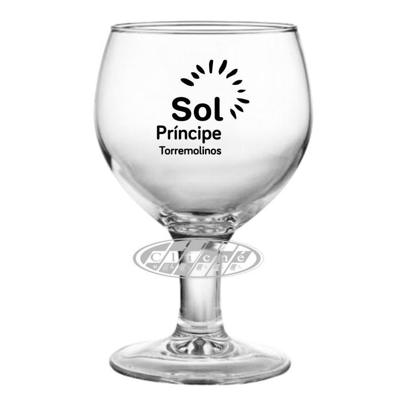 copa de cerveza personalizada cristal 41 cl