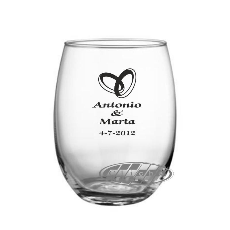 Vaso de whisky personalizado cristal 47 cl for Copas para whisky