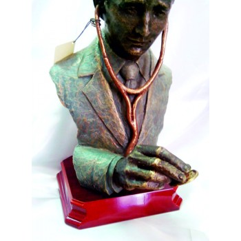 ESCULTURA DOCTOR-MÉDICO. GRABACIÓN GRATIS.