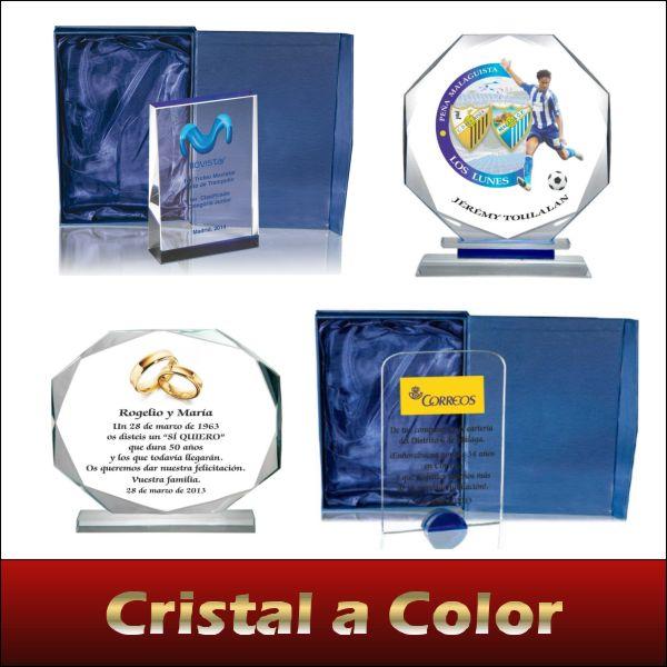 Cristal personalizado a todo color